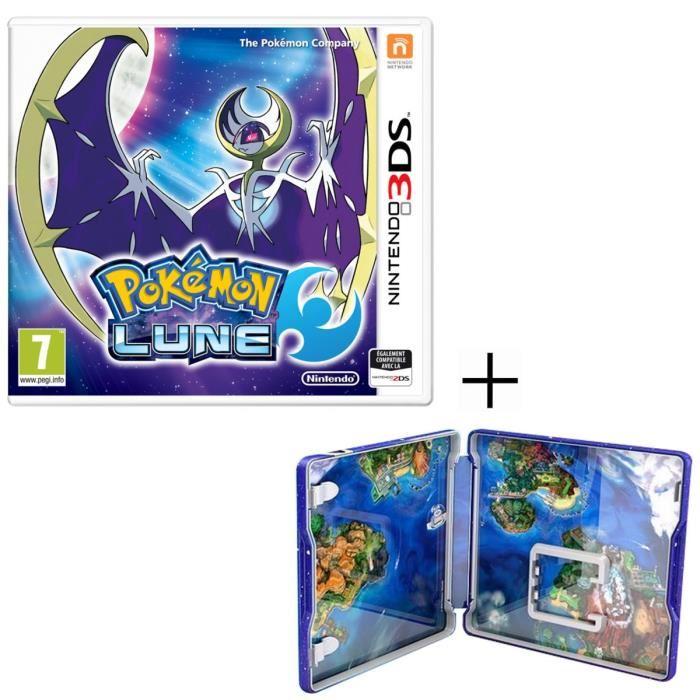 Pokemon lune dition steelbook sur 3ds 37 euros - Jeux info pokemon ...