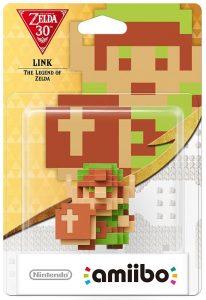amiibo link ocarina of time dérivé pixel