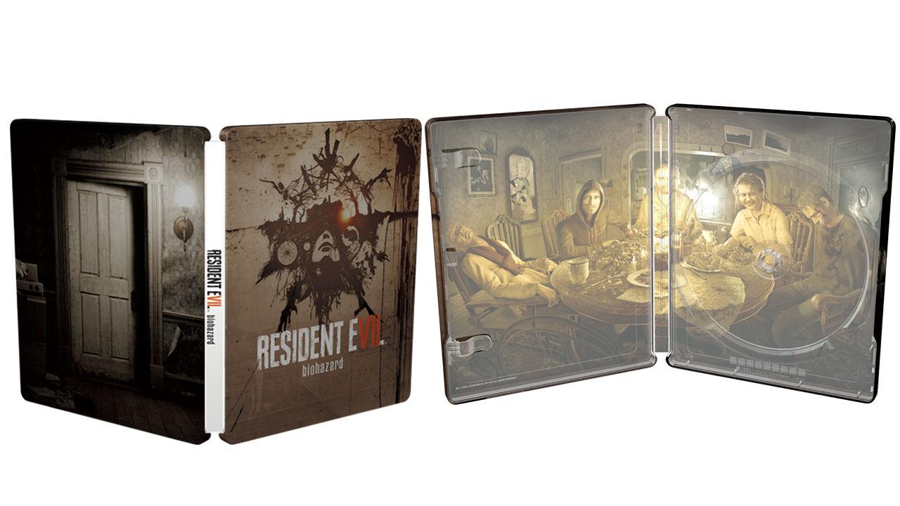 resident evil 7 pas cher edition steelbook