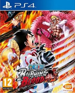 One Piece Burning Blood (PS4) : Luffy aux fraises