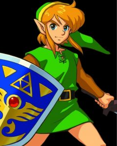 Zelda 3 : A Link To The Past (Super Nintendo)