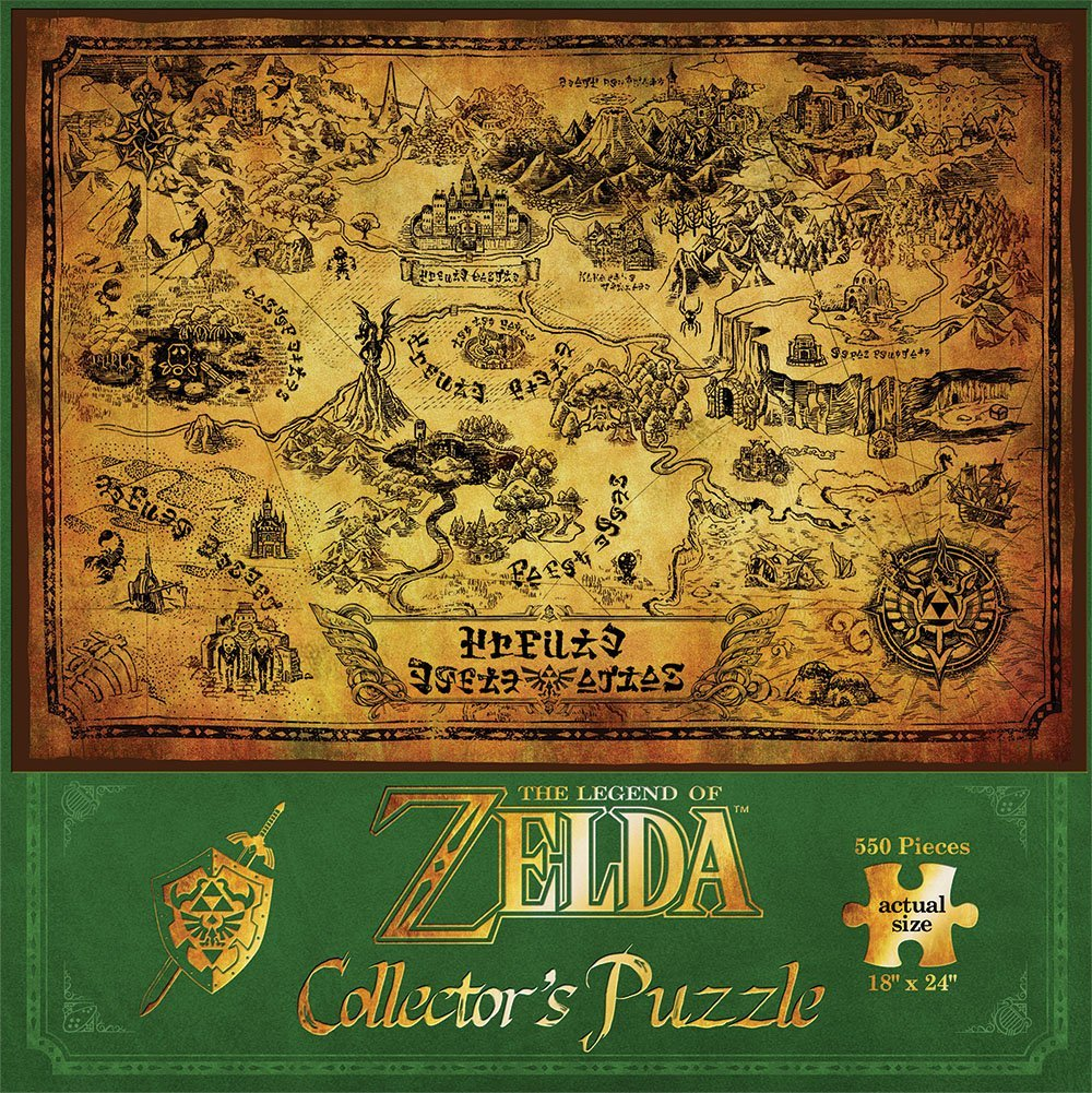bon plan puzzle zelda 16 euros. Black Bedroom Furniture Sets. Home Design Ideas
