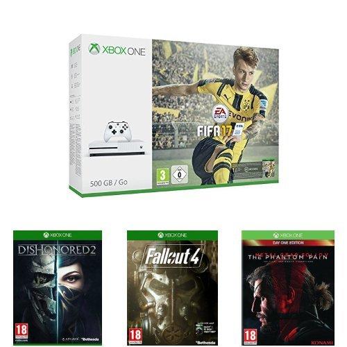 Xbox One S + 4 jeux (dont FIFA 17) à 318 euros ...