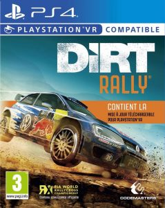 Dirt Rally PS VR sur Playstation 4
