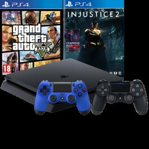 PS4 Slim + 2 manettes + Overwatch à 239 euros | ChocoBonPlan com