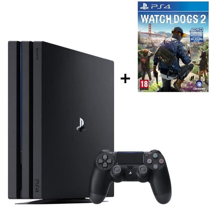ps4 pro watch dogs 2 pack 409 euros