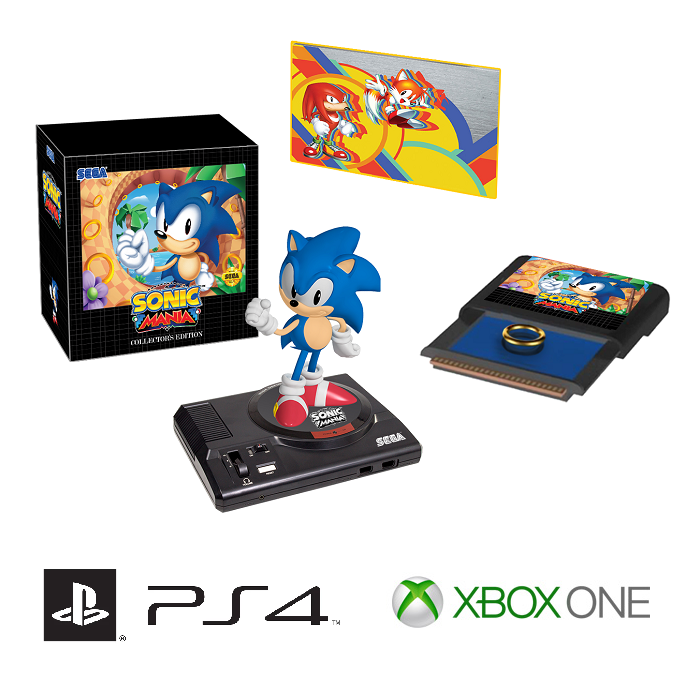 sonic mania collector les offres ps4 xbox switch i. Black Bedroom Furniture Sets. Home Design Ideas