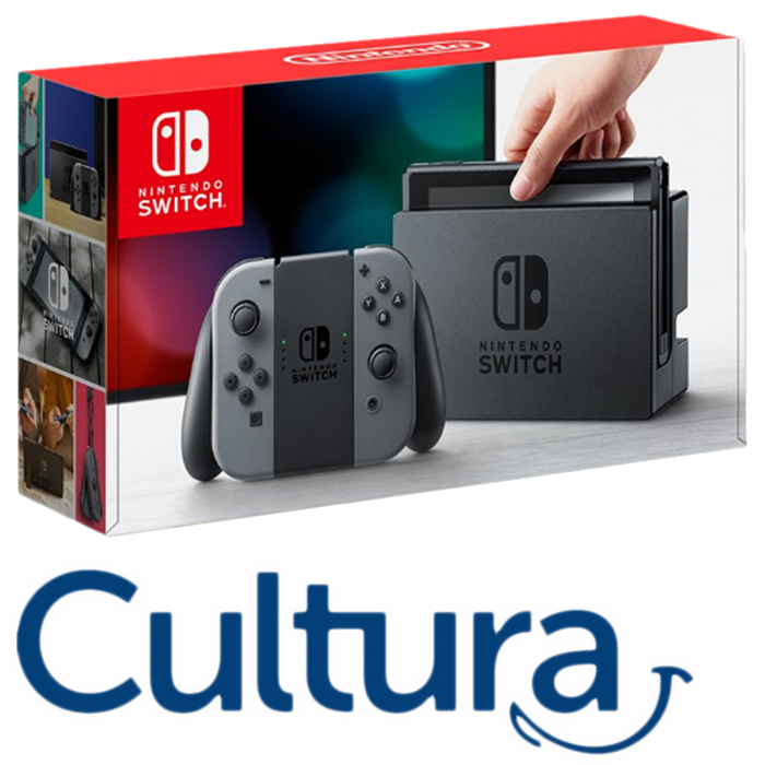 nintendo switch cultura au meilleur prix 319 euros. Black Bedroom Furniture Sets. Home Design Ideas