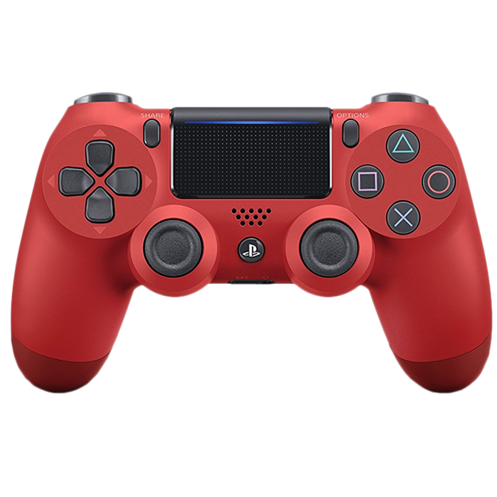 manette ps4 rouge dual shock 46 06 euros. Black Bedroom Furniture Sets. Home Design Ideas