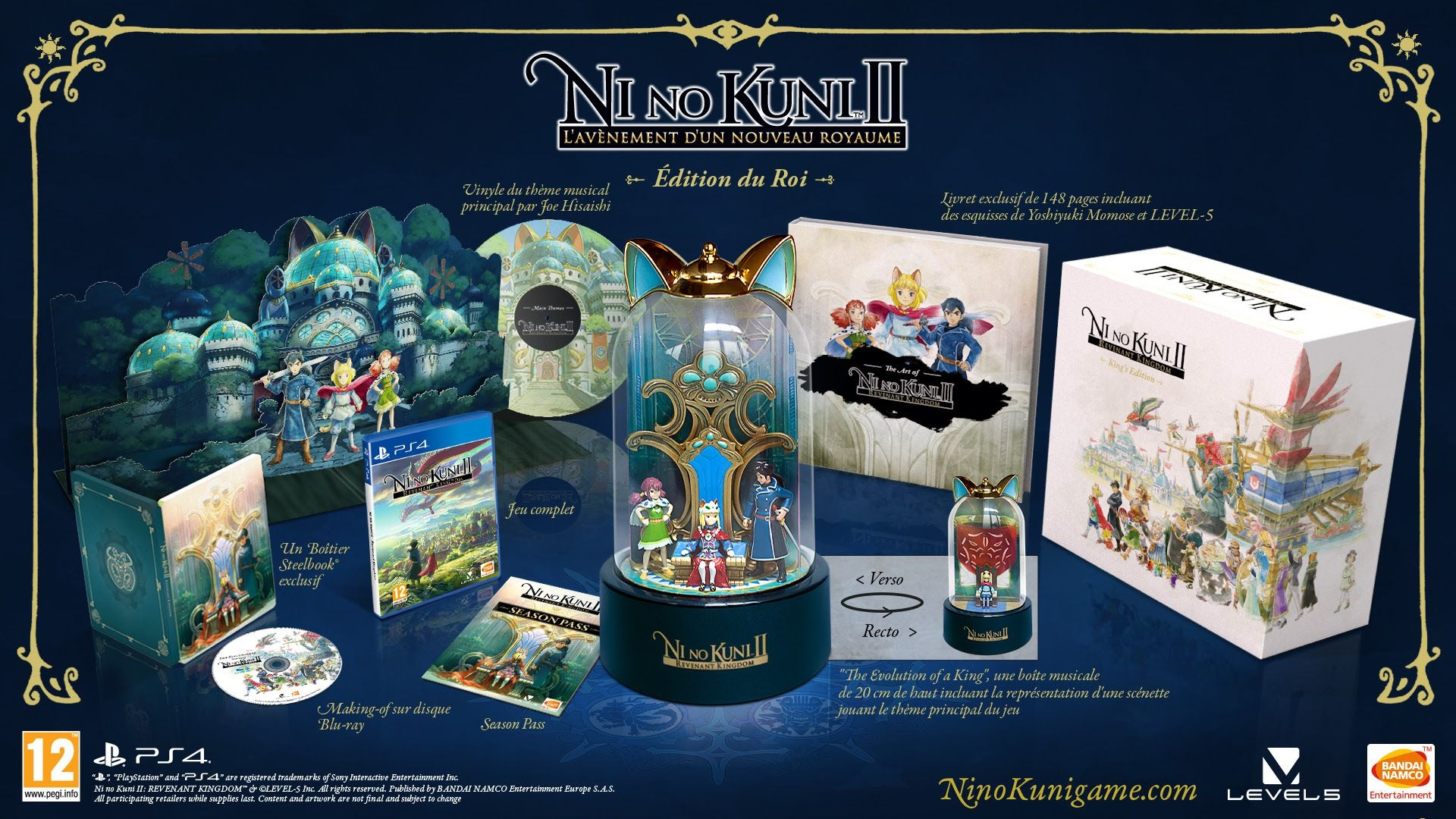 ni no kuni 2 collector contenu stock