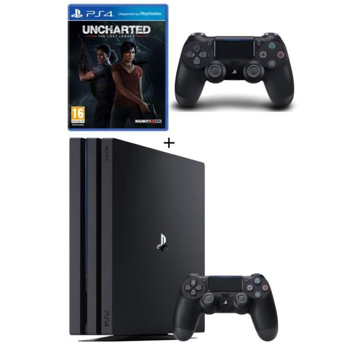 pack ps4 pro 2 manettes 369 euros