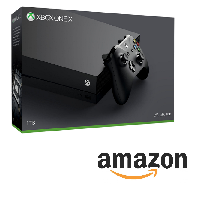 xbox one x amazon offre precommande. Black Bedroom Furniture Sets. Home Design Ideas