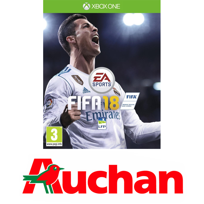 fifa 18 sur xbox one 50 50 euros. Black Bedroom Furniture Sets. Home Design Ideas