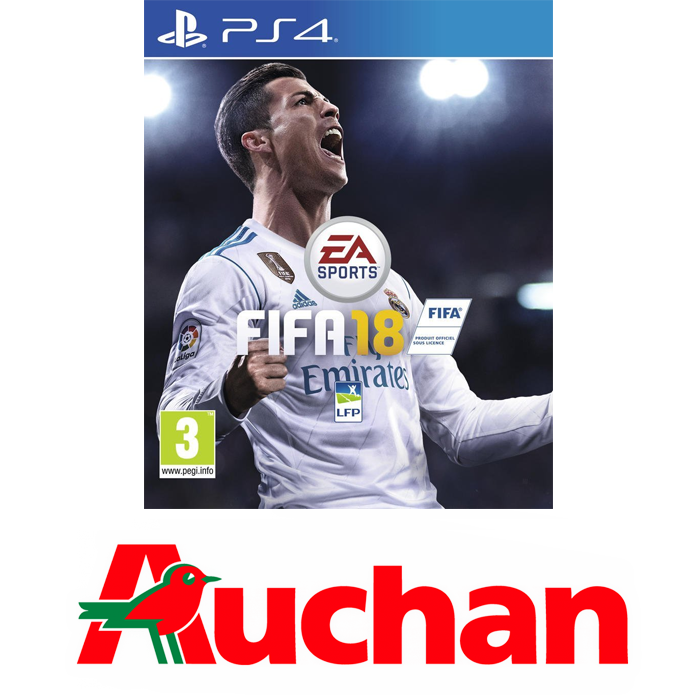 fifa 18 auchan offre ps4 50 canal plus. Black Bedroom Furniture Sets. Home Design Ideas