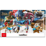 amiibo zelda revali mipha daruk urbosa zelda breath of the wild BOTW boite