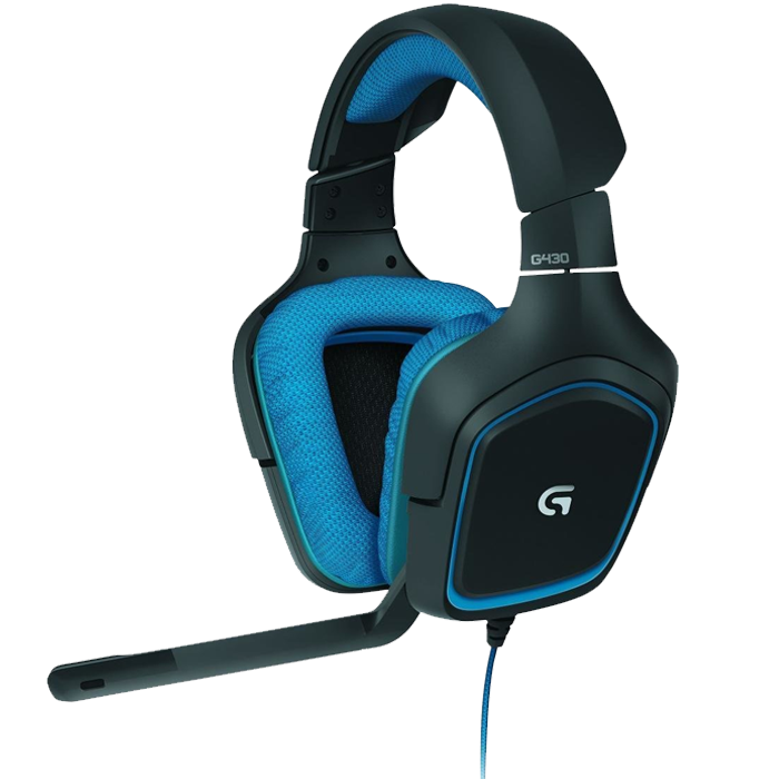 casque gaming logitech g430 pas cher 45 euros. Black Bedroom Furniture Sets. Home Design Ideas