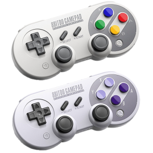 Manette 8 Bitdo SF30 Pro pour Nintendo Switch, PC, Android, Windows, Steam, Raspberry
