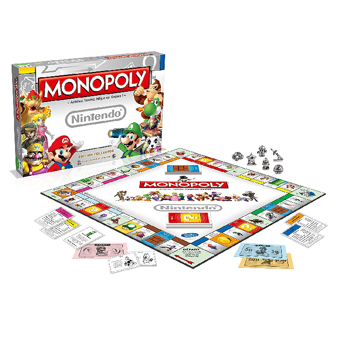 monopoly gamer nintendo pas cher 23 43. Black Bedroom Furniture Sets. Home Design Ideas