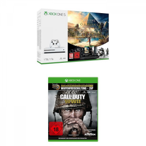pack xbox one s call of duty ww2 232. Black Bedroom Furniture Sets. Home Design Ideas