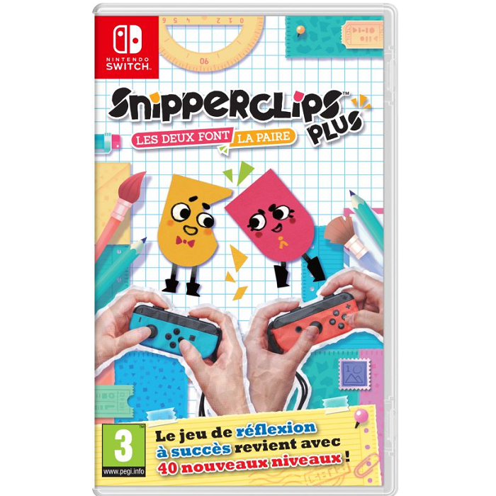 snipperclips switch pas cher 24 99. Black Bedroom Furniture Sets. Home Design Ideas