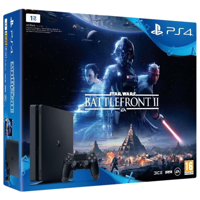 ps4 slim star wars battlefront 2 349 99 euros. Black Bedroom Furniture Sets. Home Design Ideas