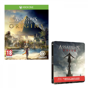 assassin 39 s creed origins xbox one pas cher 60. Black Bedroom Furniture Sets. Home Design Ideas