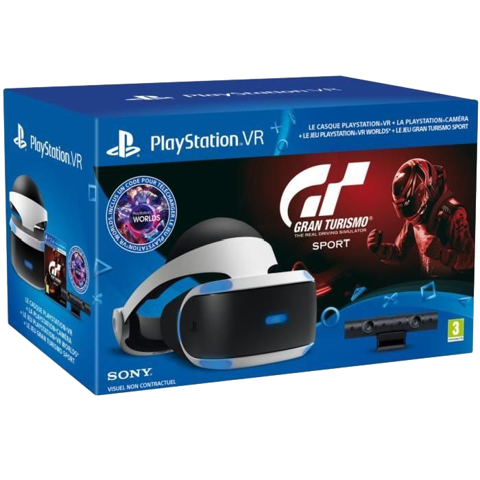 bon plan pack ps vr gran turismo sport camera 299 99 euros. Black Bedroom Furniture Sets. Home Design Ideas