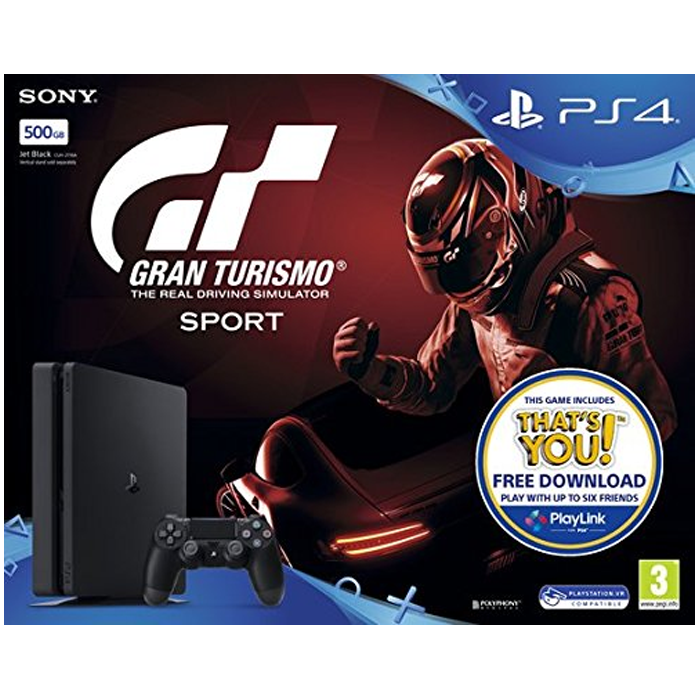 pack ps4 slim 500 go gt sport 257 euros. Black Bedroom Furniture Sets. Home Design Ideas