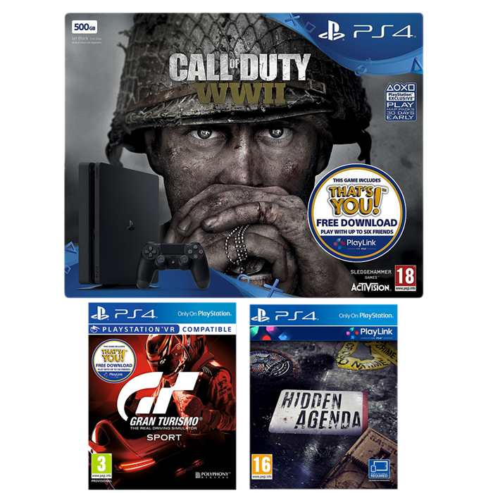 ps4 slim cod ww2 pas cher amazon 234 euros. Black Bedroom Furniture Sets. Home Design Ideas