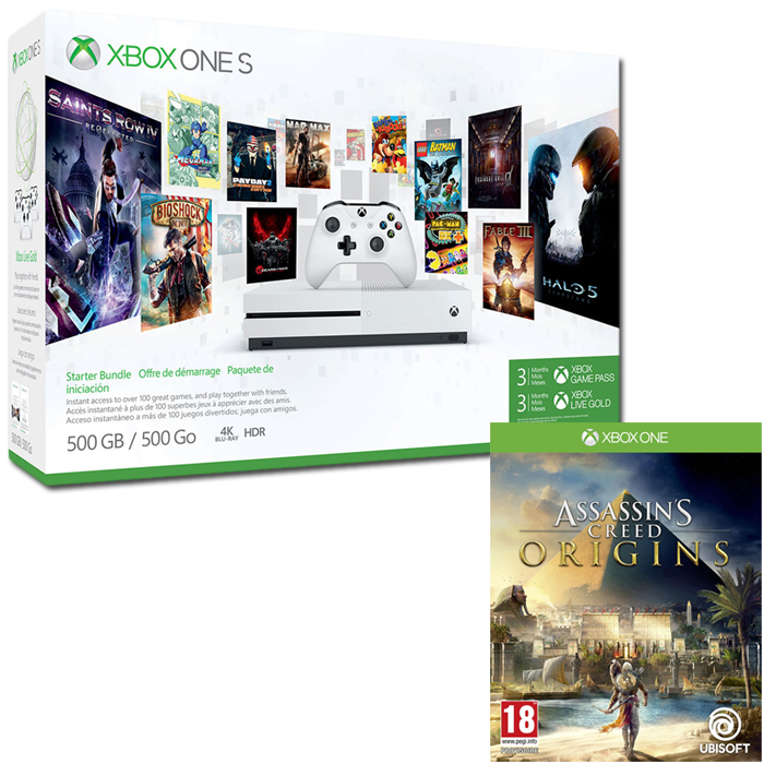 pack xbox one s assassins creed origins 189