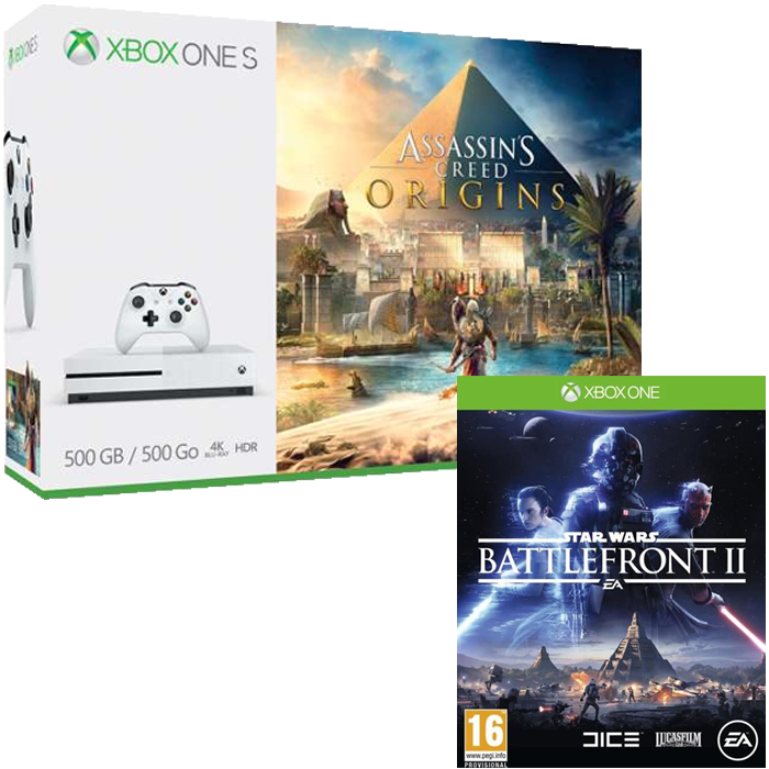 xbox one s assassins creed star wars 249. Black Bedroom Furniture Sets. Home Design Ideas