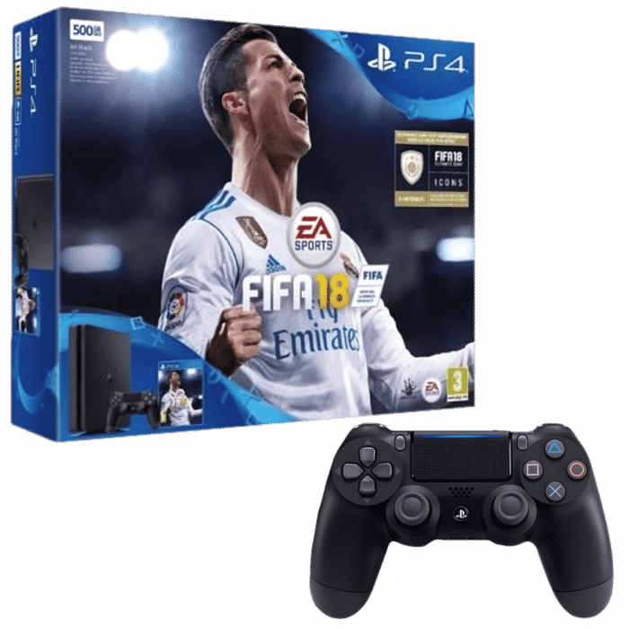 pack ps4 slim 2 manettes fifa 18 339 99 euros. Black Bedroom Furniture Sets. Home Design Ideas