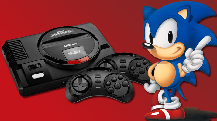 test megadrive mini finition console