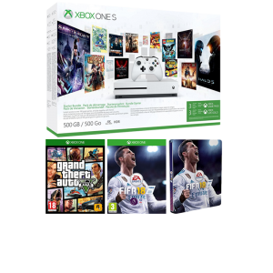 pack xbox one s gta 5 fifa 18 pas cher 311. Black Bedroom Furniture Sets. Home Design Ideas