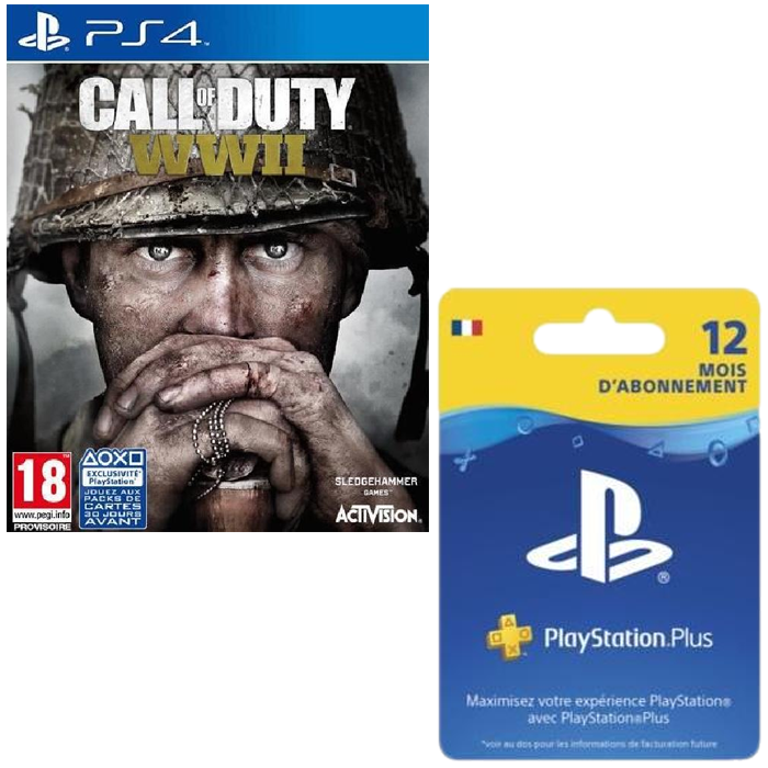 call of duty ww2 pas cher ps4 30. Black Bedroom Furniture Sets. Home Design Ideas