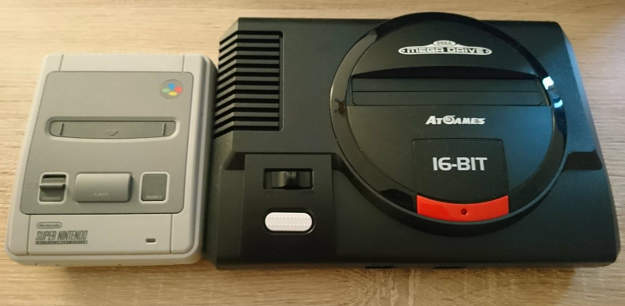 test megadrive mini finition