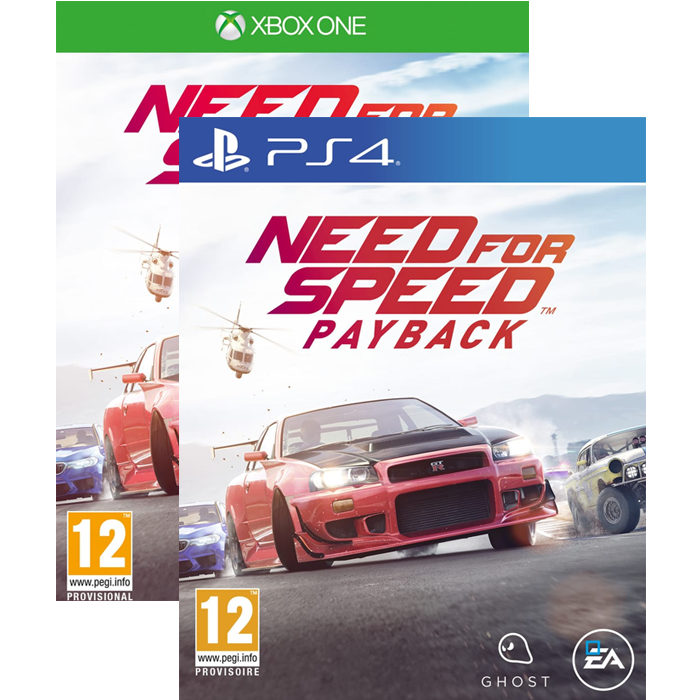 need for speed payback ps4 et xbox one 19 99. Black Bedroom Furniture Sets. Home Design Ideas