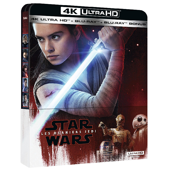 Star Wars 8 Blu Ray