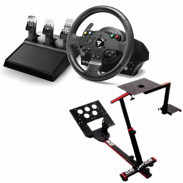 volant p dalier thrustmaster xbox one pc support 229. Black Bedroom Furniture Sets. Home Design Ideas