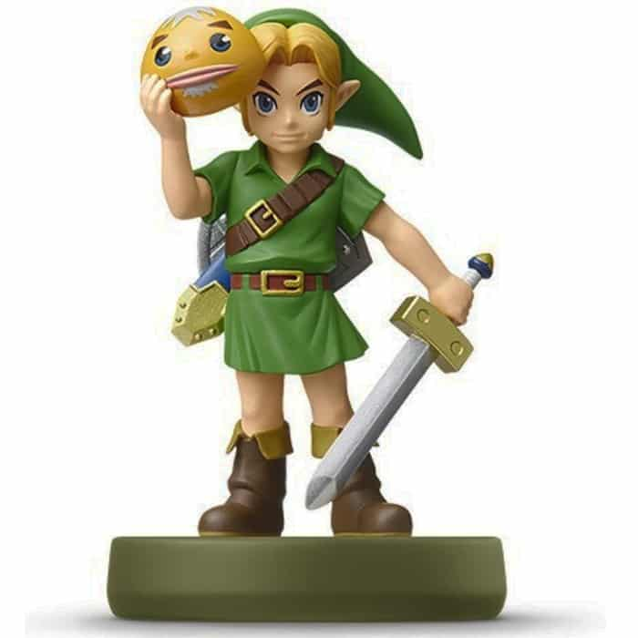 amiibo link majora 39 s mask en stock et au bon prix. Black Bedroom Furniture Sets. Home Design Ideas