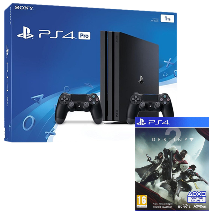 ps4 pro 1to 2 manettes destiny 2 429 99