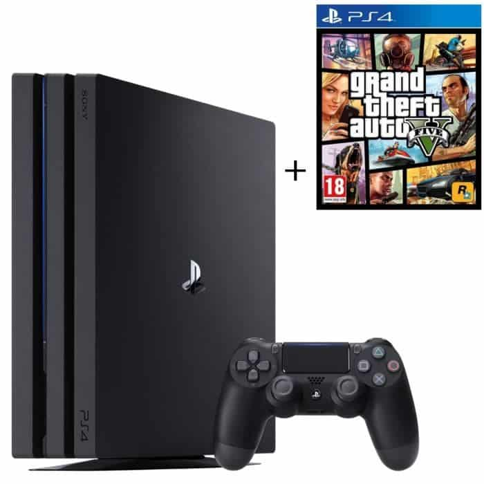 bon plan ps4 pro gta au meilleur prix. Black Bedroom Furniture Sets. Home Design Ideas