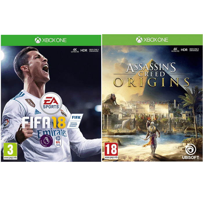 assassin 39 s creed origins fifa 18 sur xbox one. Black Bedroom Furniture Sets. Home Design Ideas