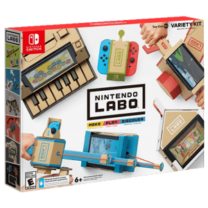 nintendo labo multi kit pas cher o le trouver. Black Bedroom Furniture Sets. Home Design Ideas