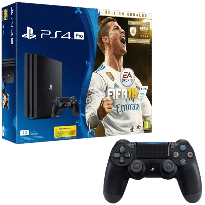 pack ps4 pro fifa 18 deluxe pas cher 399. Black Bedroom Furniture Sets. Home Design Ideas