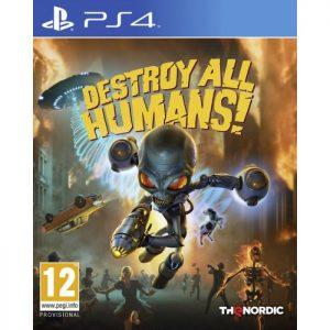 destroy all humans ps4 visuel produit