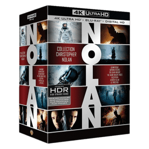christopher nolan coffret blu ray 4k