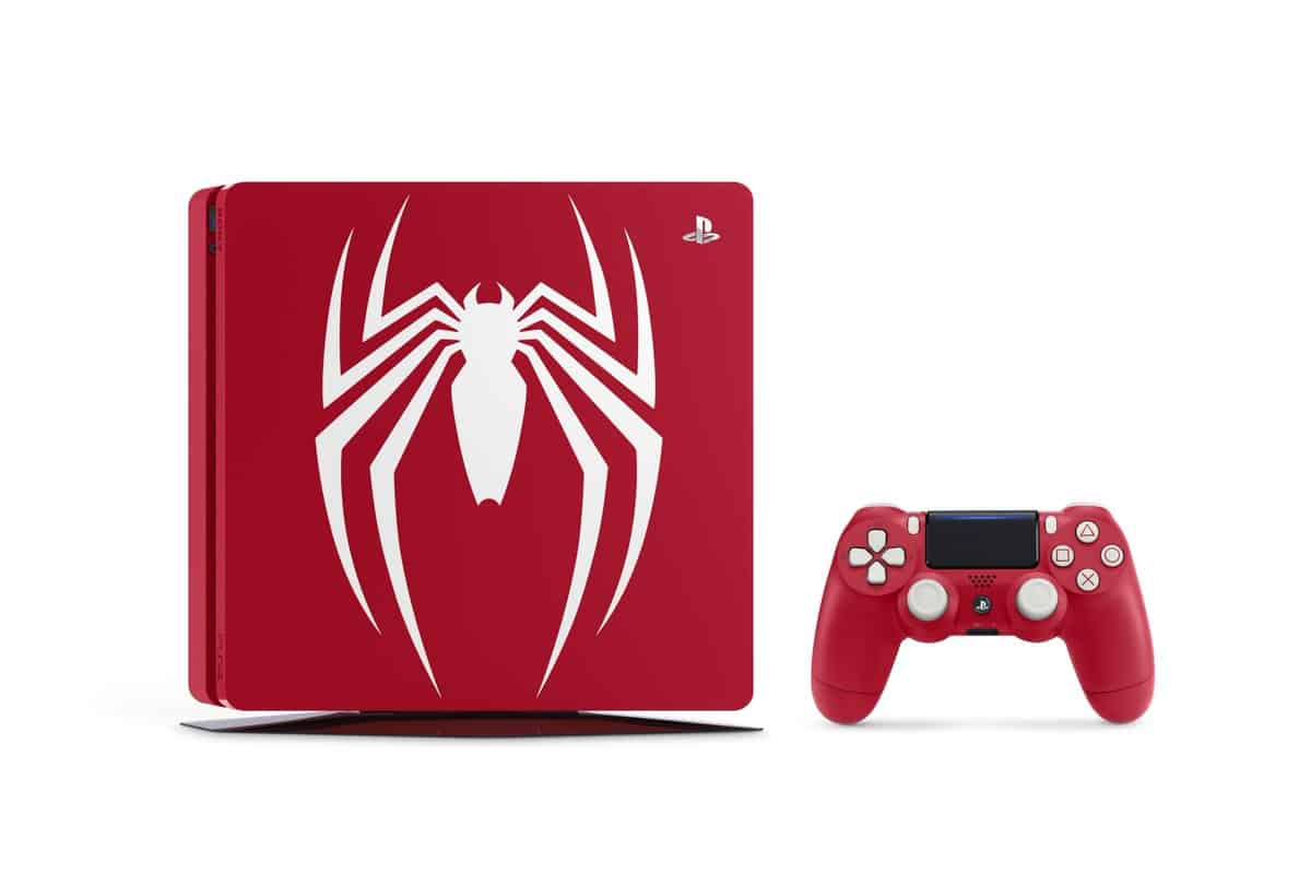 ps4 slim spiderman