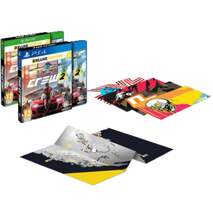 the crew 2 edition deluxe ps4 xbox one. Black Bedroom Furniture Sets. Home Design Ideas