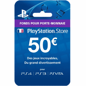 Carte PSN Plus 50 euros